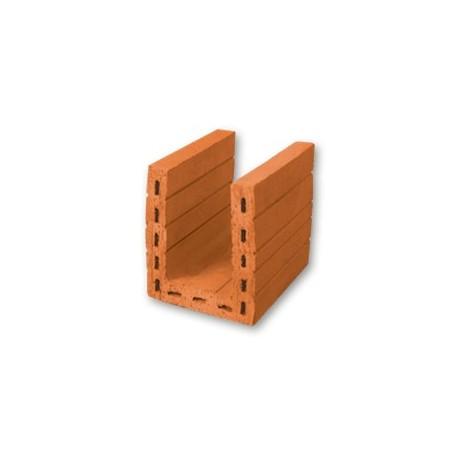 Keraminiai blokeliai Kerapor U-formos