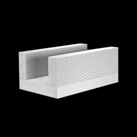 Akyto betono blokeliai Ytong U formos