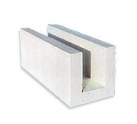 Akyto betono blokeliai Solbet U formos