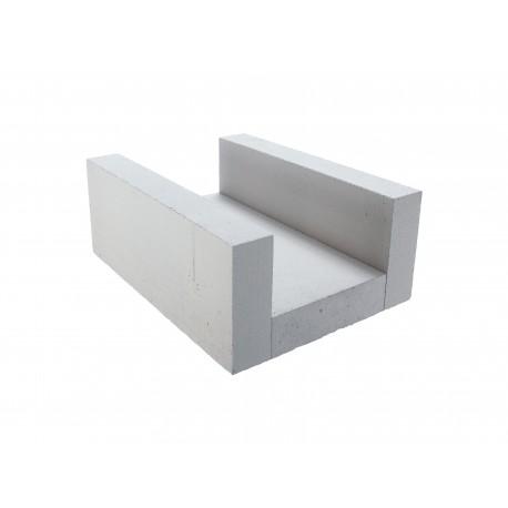 Akyto betono blokeliai Roclite U formos